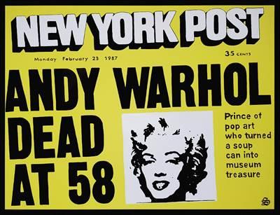 Warhol is Dead