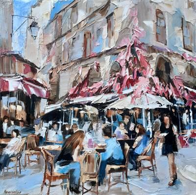 Café dans le Marais