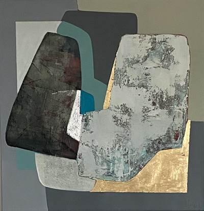 Abstract Turquoise II