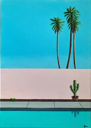 Le Cactus au Bord de l'Eau