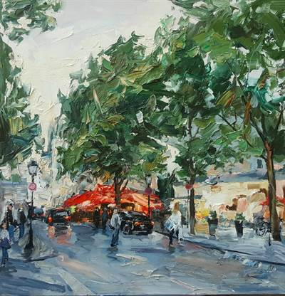 Saint André in Summer - Paris
