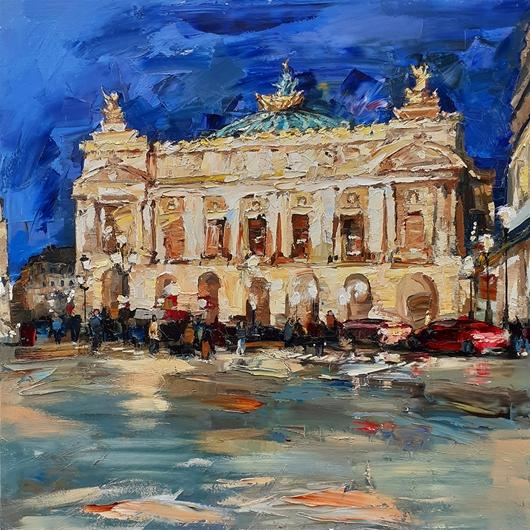 Opéra Garnier le Soir