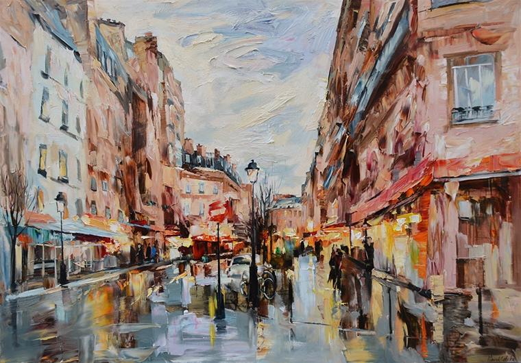 Paris à Châtelet