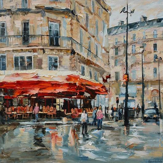Paris après la Pluie