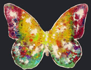 B��L - Liberty Fly Bloom LY #06 - Peinture - ArtFloor.com