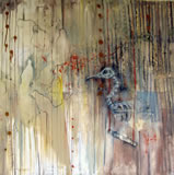 LAMRI - Birds are still singing - Peinture - ArtFloor.com
