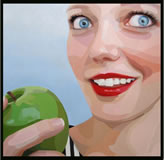 HOLDGAARD - The Apple - Peinture - ArtFloor.com
